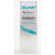 Дезодорант-стик минеральный   TRAVEL STICK   чистый   40g DeoNat