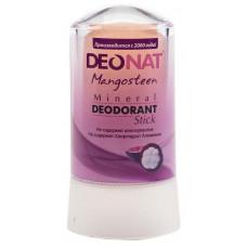 Дезодорант-стик минеральный   ЭКСТРАКТ КОЖУРЫ МАНГОСТИНА   розовый   60g DeoNat