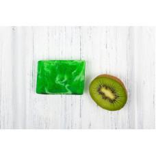 Глицериновое мыло ручной работы  ЗЕЛЕНЫЙ МИКС  масло авокадо, экстракт зеленого чая  100g Кафе Красоты