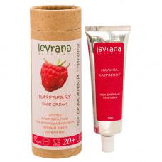 Крем для лица   МАЛИНА   тонизирующий, 20+  50 ml Levrana