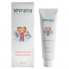 Зубная паста  АПЕЛЬСИНКА   детская  50 ml Levrana